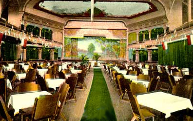 Good In The Off  Season, When Not In Use For Other Purposes, The Auditoriumu0027s  Lower Floor Was Converted Into The Venetian Gardens Restaurant, ...